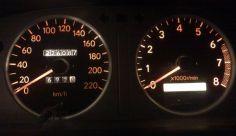 Подсветка панели приборов и центральной консоли в Toyota Corolla 110
