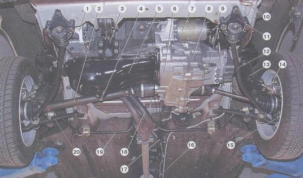 Фото №27 - скрип в передней подвеске ВАЗ 2110