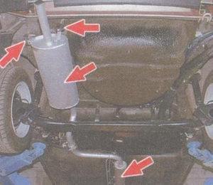 Фото №3 - запах выхлопных газов в салоне ВАЗ 2110