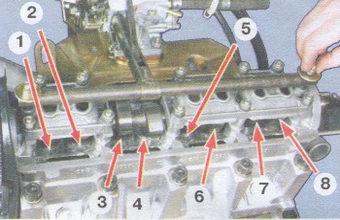 регулировка зазоров клапанов на двигателях автомобилей ваз 2108, ваз 2109, ваз 21099