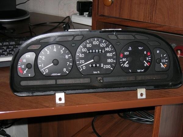Подсветка панели приборов ВАЗ 2106 (2)