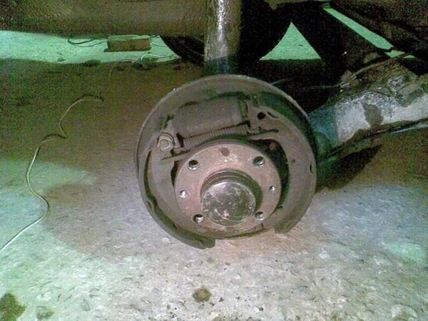 Замена колёс ваз 2110
