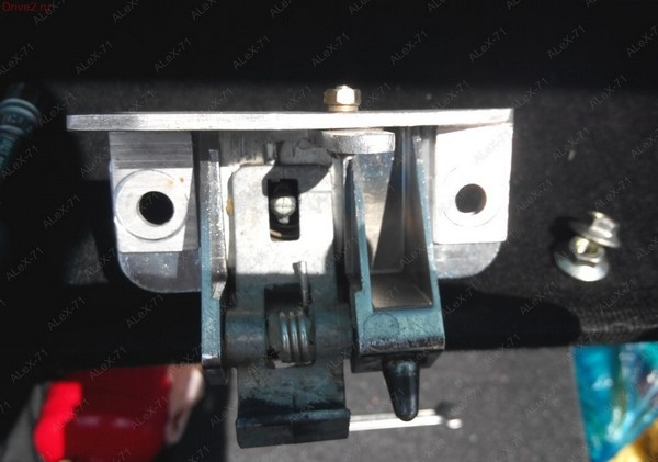 электрозамок багажника nissan sunny самостоятельная установка