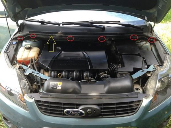 Дезинфекция кондиционера Ford Focus 2