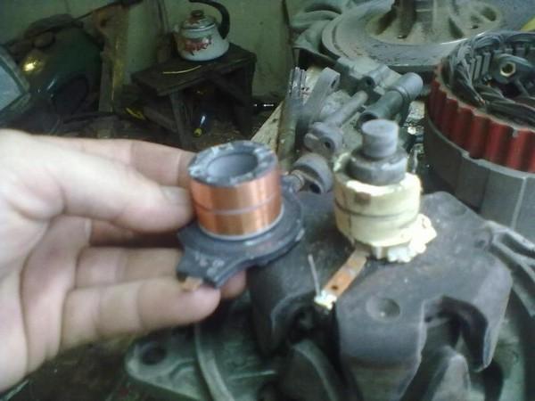 Фото №4 - замена токосъемных колец генератора ВАЗ 2110