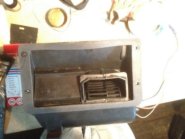 Модернизированная печка на ниву своими руками 66