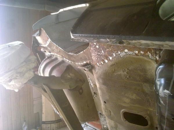 Замена задних лонжеронов на ваз 2109 своими