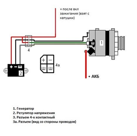 Схема подключения генератора газель 406 фото 852