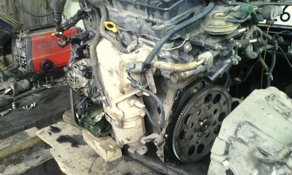 Замена двигателя Nissan Sunny b15 QG15 на QG18