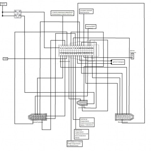 Фото №9 - схема приборной панели ВАЗ 2110