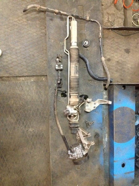 Ремонт рулевой рейки с гур ваз 21124 своими руками
