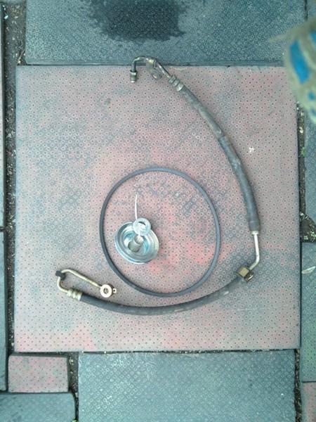 Изготовление кронштейна насоса ГУР и установка регулируемой рулевой колонки от 2110 на НИВУ