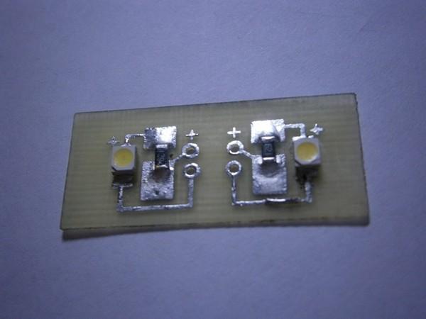 Установка блока индикации контрольных ламп