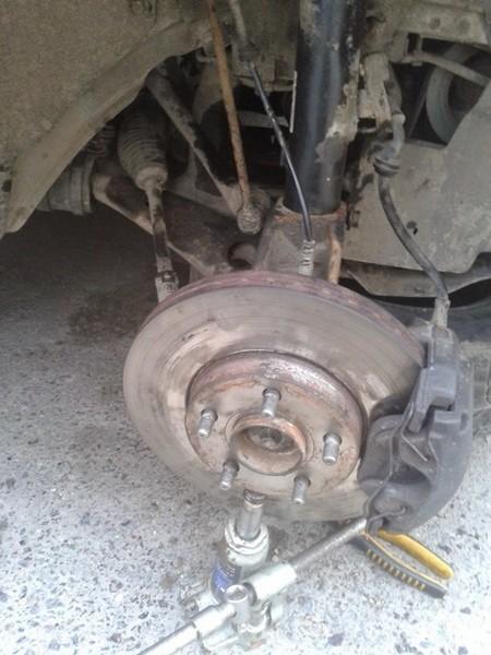 Замена пыльника внутреннего ШРУС Ford Focus 2