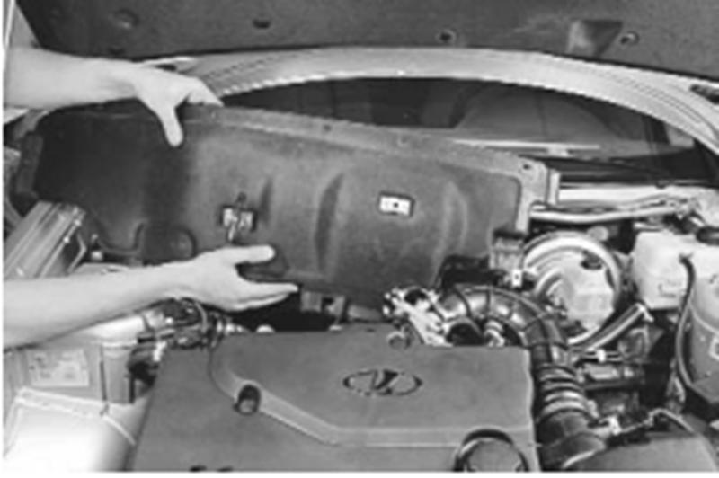 Фото №9 - шумоизоляция моторного отсека ВАЗ 2110