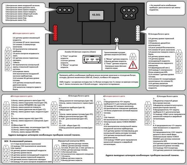 схема подключения стоп сигналов ваз 1118