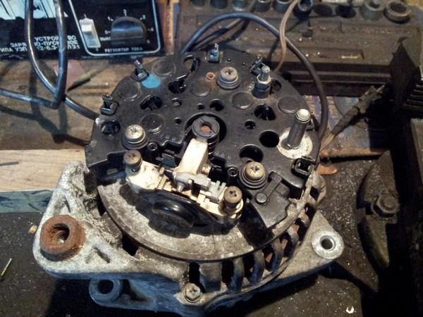 Ремонт генератора на а6