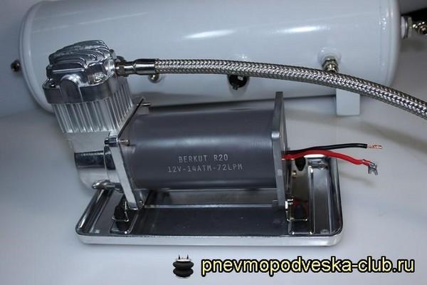 Установка пневмоподвески ВАЗ 2114