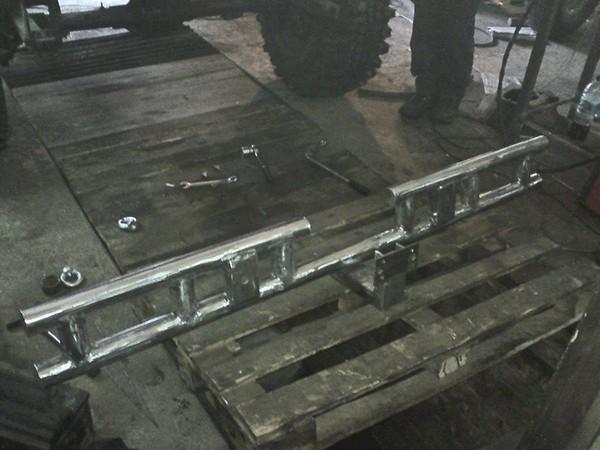 Задний силовой бампер УАЗ 31512