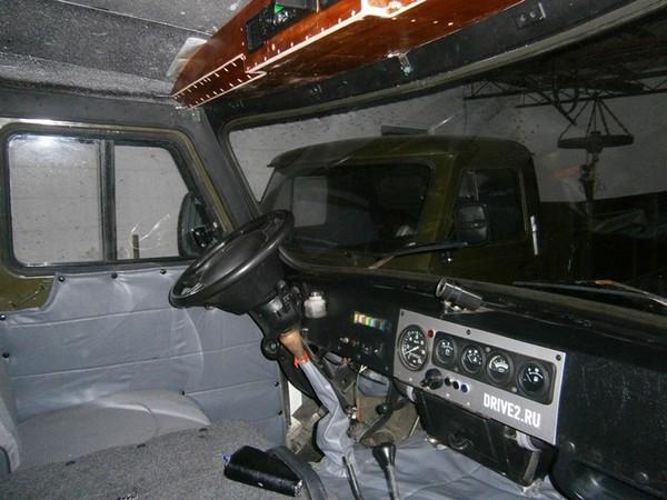 Тюнинг салона уаз 3303 своими руками