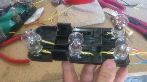 Задние фонари НИВЫ, небольшая доработка