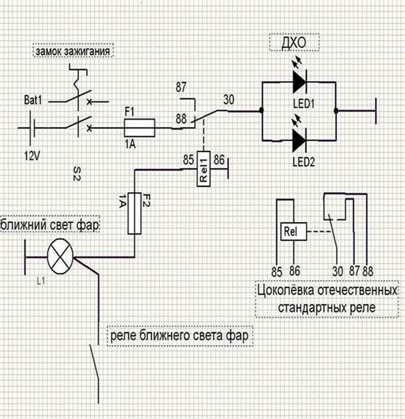 Схемы дхо для рено сандеро