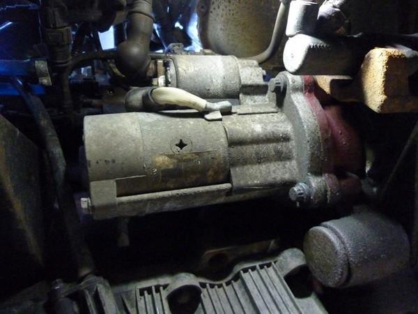 Стартер двигателя Cummins 2.8 ISF: очистка электрической части от окисления ГАЗ Газель