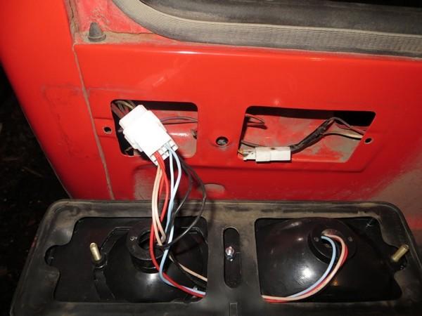 Установка светодиодов в фонари ВАЗ 2101