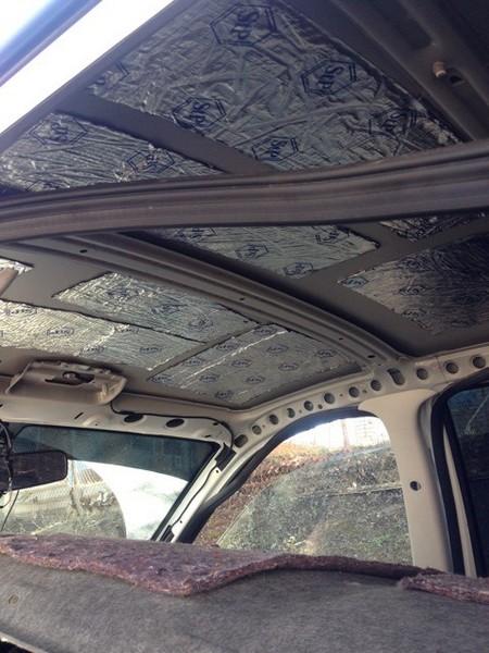 При дверей автомобиля шумоизоляции использовать какой материал