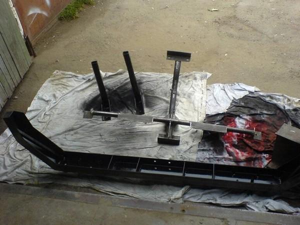 Изготовление силовых бамперов для НИВЫ