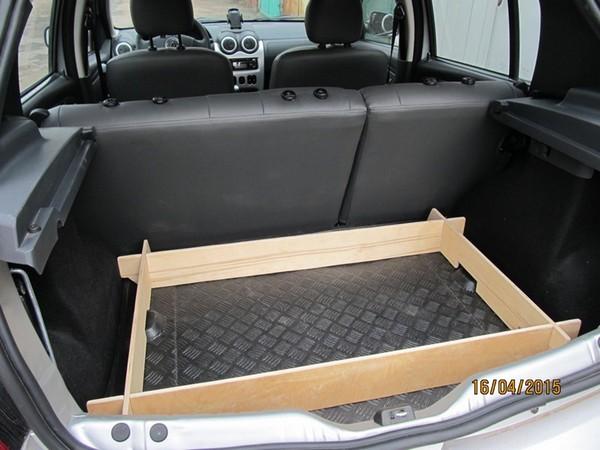 Органайзер багажного отсека рено дастер как сделать