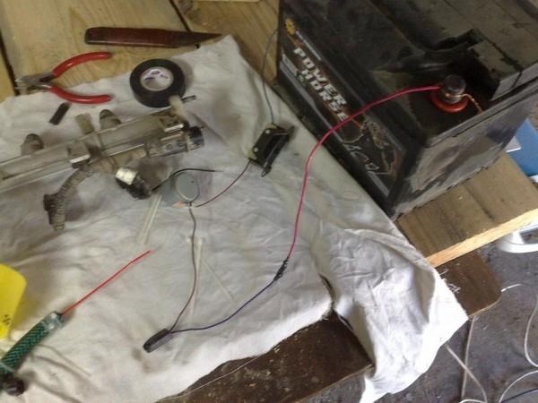 Промыть инжектор своими руками ниссан