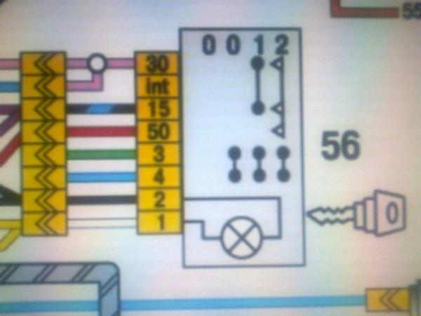 схема кнопки аварийки 2121