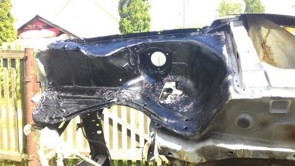 Восстановление кузова ВАЗ 2108