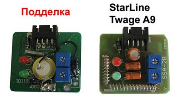 Отличия оригинальной системы StarLine от подделки