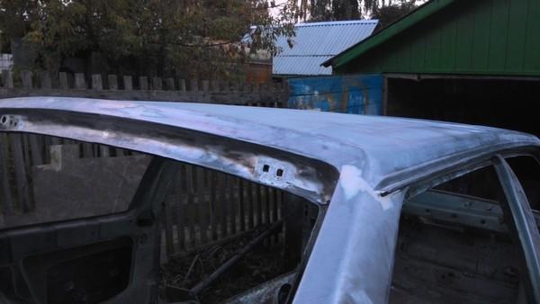 Восстановление кузова ВАЗ 2108 от ржавчины
