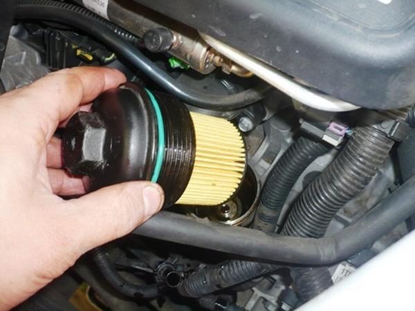 Замена масла в двигателе шевроле каптива 2.2 дизель своими руками