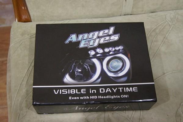 Изготовление и установка ангельских глазок для Nissan Almera N16