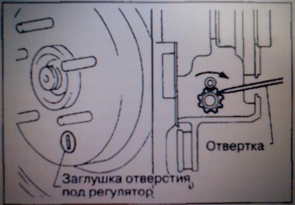 Замена передних колодок х трейл