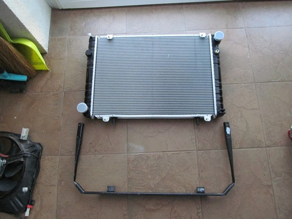 Радиатор на уаз старого образца