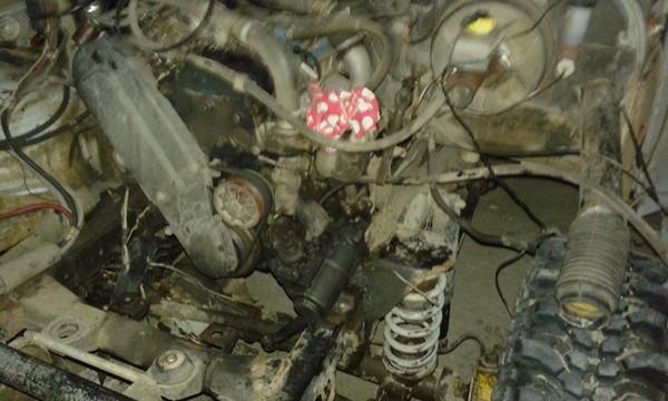 Установка рулевого редуктора Y60 УАЗ Хантер 31519