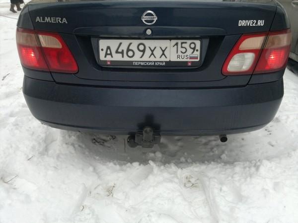 Подробнее: Установка фаркопа для Nissan Almera N16