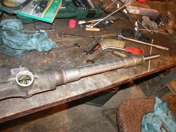 2112 ремонт рулевой рейки своими руками