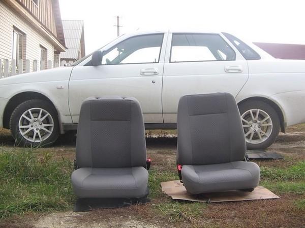 Установка подогрева сидений в Ладу Приора
