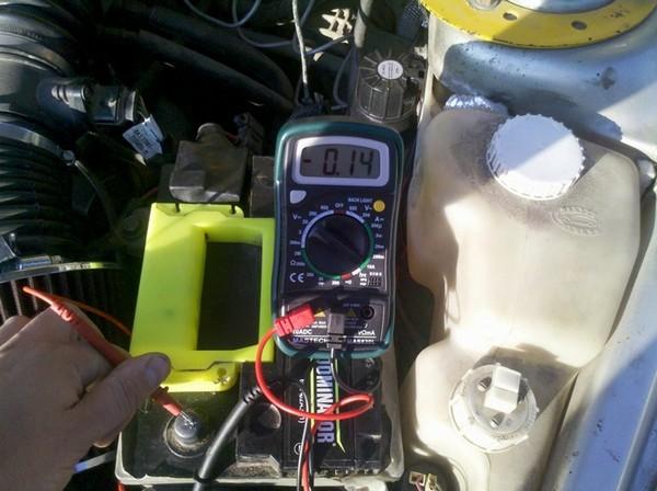 Устранение утечки аккумулятора при подключении магнитолы в ВАЗ 2110