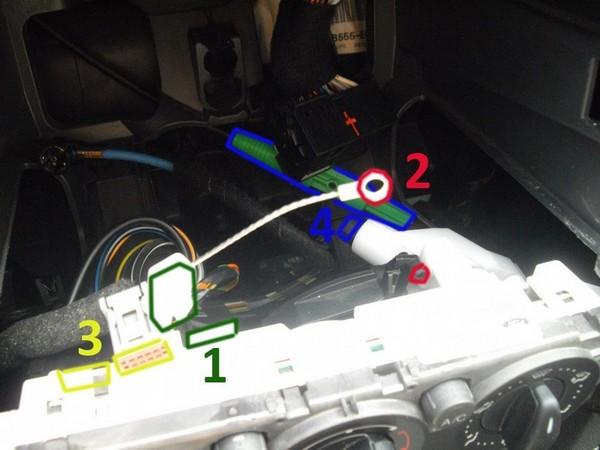 Автоматическое включение кондиционера в Ford Focus 2
