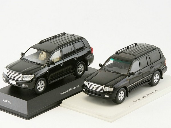 Комплектация Toyota Land Cruiser 100 по Vin
